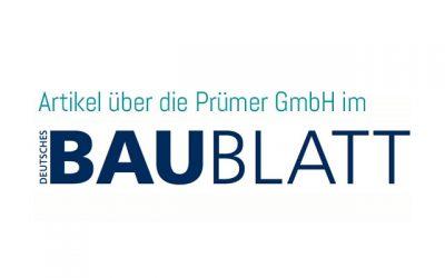 Artikel in Deutsches Baublatt Nr. 389