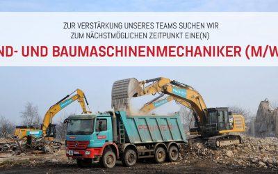 Jobangebot: Land- und Baumaschinenmechaniker (m/w/d)