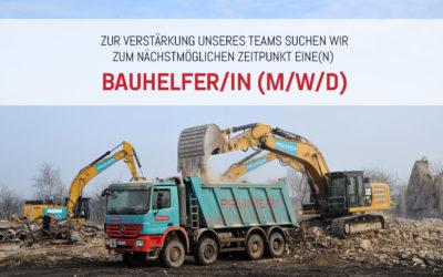 Bauhelfer/-in (m/w/d)
