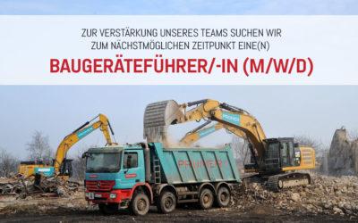 Baugeräteführer/-in (m/w/d)