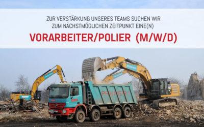 Vorarbeiter/Polier (m/w/d)